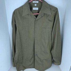 Van Heusen Long Sleeve Button Up Shirt 16.5 34/35